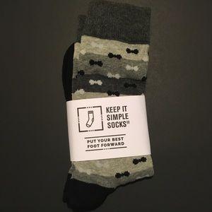 Other - NWT Keep It Simple Socks dress socks